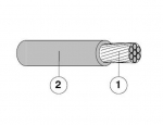 Cable, 12560250, HUBER+SUHNER
