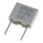 Film Capacitors, MMK15474K400B11L4BULK, KEMET
