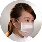 Nonwoven Polypropylene Mask, MASK-3PWSOP, MAXCLEAN